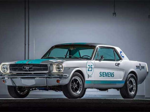 Siemens' Autonomous 1965 Mustang Tackles Goodwood Hill Unspectacularly