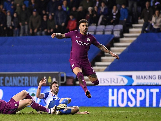 Manchester City player ratings vs Wigan - some threes and fours!