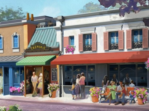 New Creperie Announced for Epcot's France Pavilion!