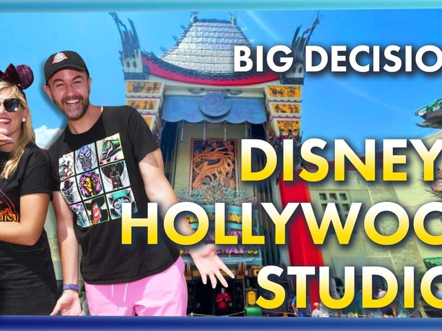 AllEars TV: The Biggest Decision You'll Make in Disney World's Hollywood Studios