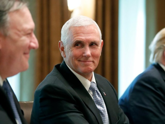 Mike Pence's office takes rare step of publicly denying he was author of New York Times op-ed amid wild speculation