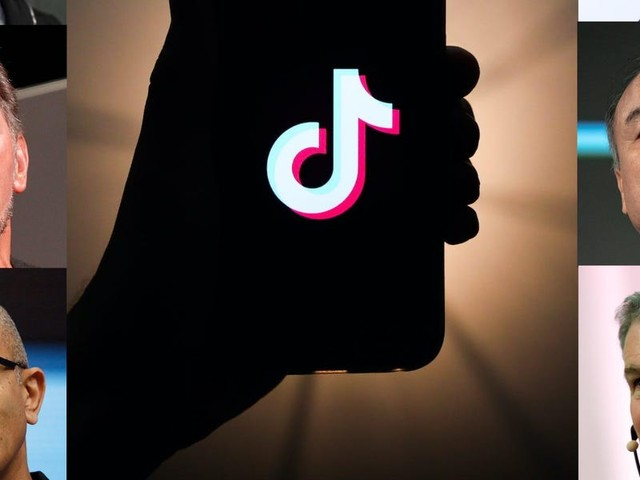 The 14 companies jostling to buy TikTok — and why they want it (GOOGL, MSFT, ORCL, NFLX)