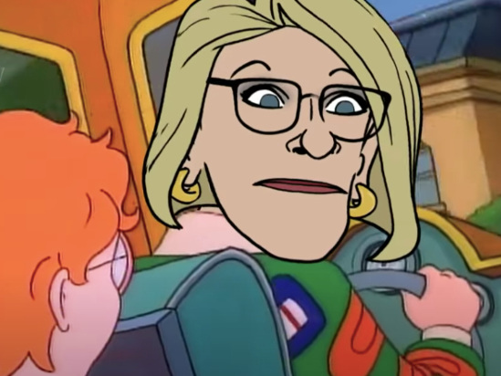 Stephen Colbert Casts Betsy DeVos in Ms. Frizzle's Role for 'The Tragic School Bus' (Video)