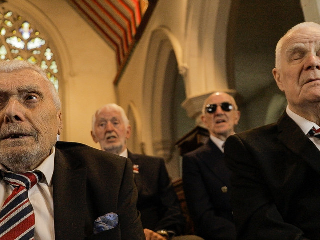 These blind veterans are packing up their troubles to release a new single