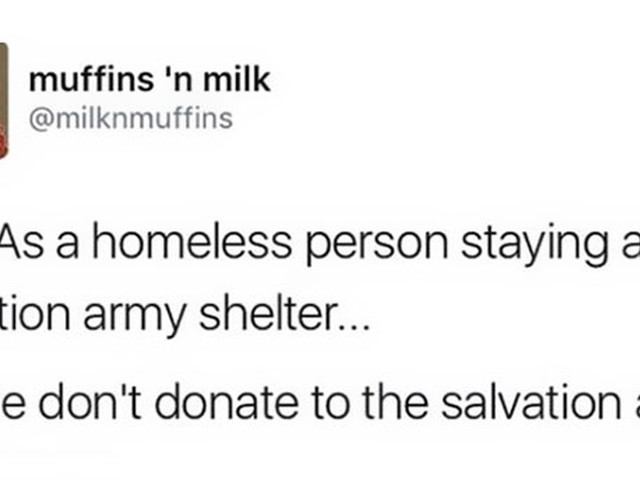 This Homeless Woman Explained Why People Should Stop Donating To The Salvation Army