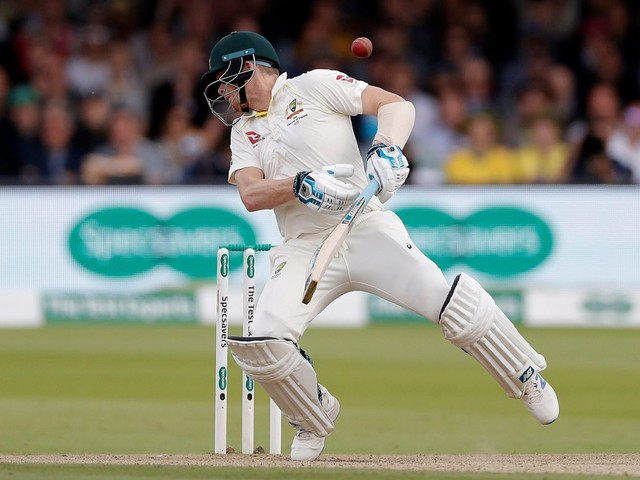 Steve Smith ruled OUT of rest of Lord's clash with concussion and is Ashes doubt for Third Test next week