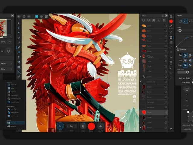 Affinity Designer For iPad Launches With Special Introductory Price