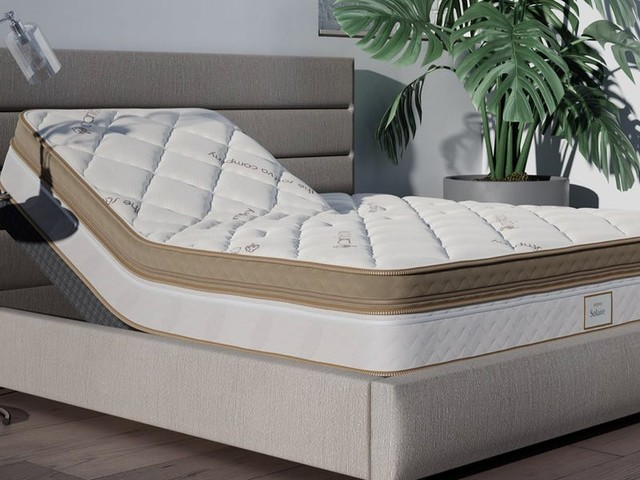 The Saatva Solaire mattress features the same technology popularized by Sleep Number, making it a great choice for partners with different sleep preferences like my wife and me