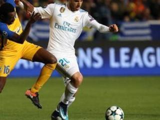 Madrid midfielder Asensio to miss Malaga match with injury