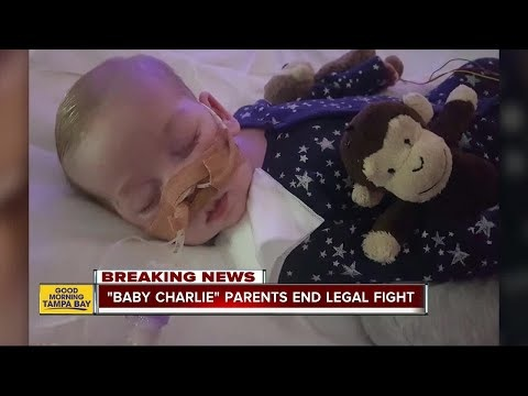 Parents of Charlie Gard End Fight To Bring Terminally Ill Baby To US