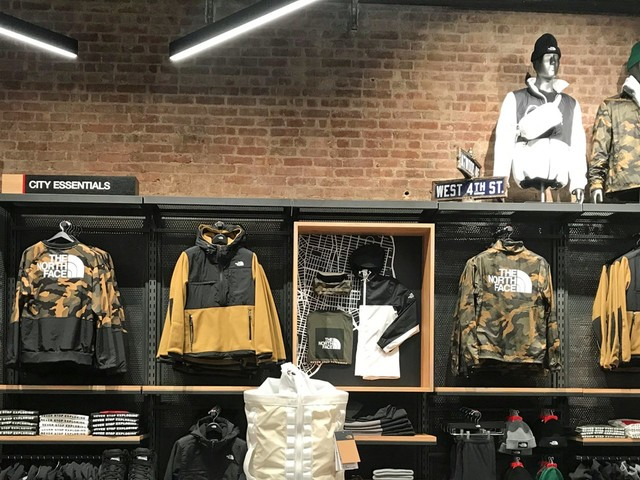 We went shopping at The North Face's new interactive store, complete with the scents of Yosemite, and saw how it could be the future of the brand