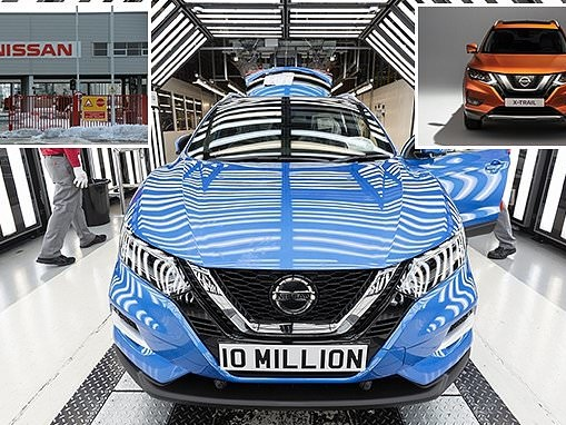 Nissan's Sunderland factory becomes first UK car plant to build TEN MILLION vehicles