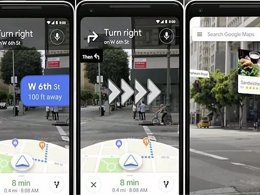 New Google Maps AR feature recognises buildings navigates users in REAL TIME