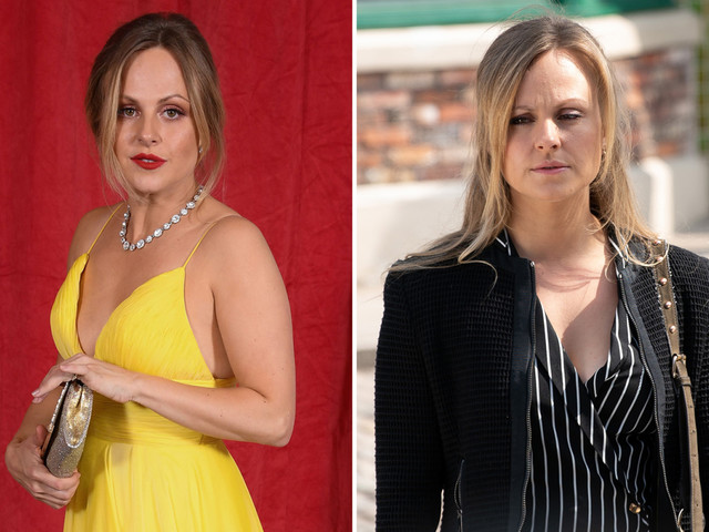 Coronation Street's Tina O'Brien sparks fears she'll be the next star to leave as she moans about 7am starts on set
