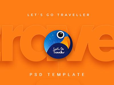 Let's GO Traveller 2 | A Multipurpose Travel Template (Travel)