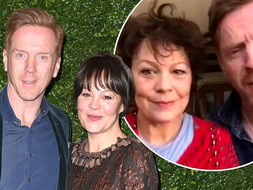Helen McCrory and Damian Lewis admit they're 'frustrated' at COVID-19 experts