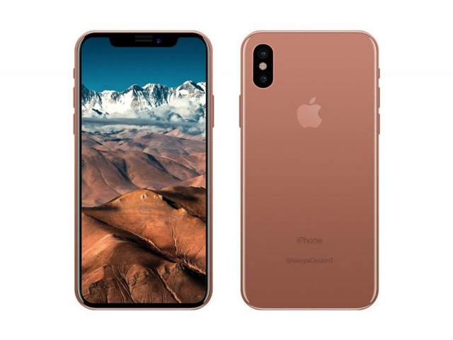 Alleged Foxconn Insider Claims Copper-Like iPhone 8 Color is Officially Called 'Blush Gold'