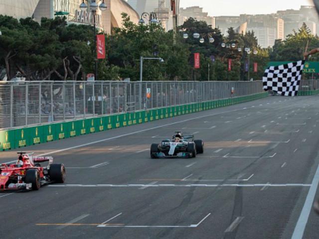 Hamilton challenges Vettel after Baku road rage