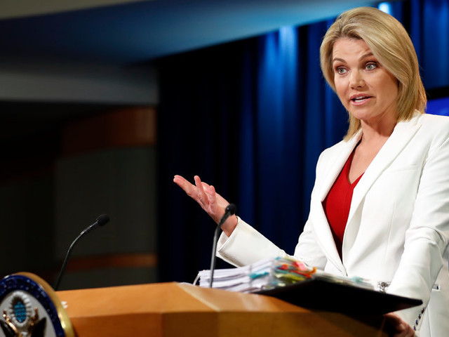 Heather Nauert, State Dept. Spokeswoman, Said to Be Trump's Pick for U.N. Post