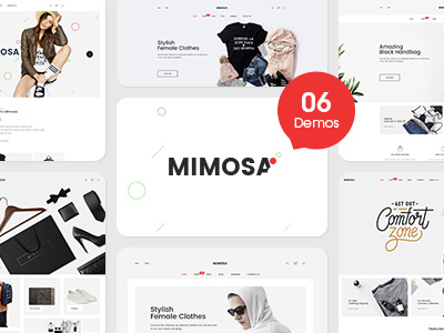 Mimosa - Responsive Fashion Prestashop 1.7 Theme (Fashion)