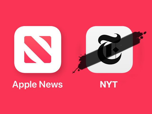 The New York Times Ends Apple News Partnership and Pulls All Articles
