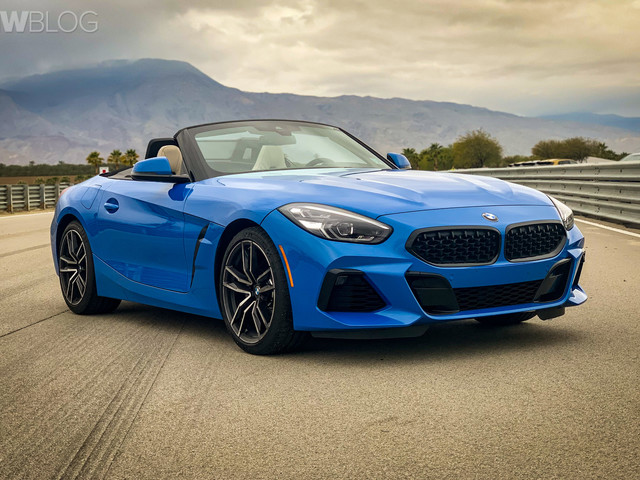 2019 bmw z4 looks awesome in misano blue motors anygator com rh uk anygator com