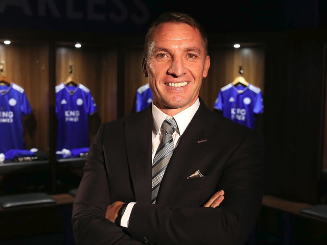 Brendan Rodgers will 'give his life' to make Leicester City fans proud