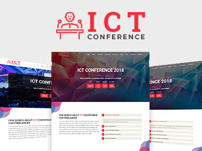 ICT - Conference HTML Template (Corporate)