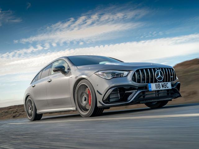 Mercedes-AMG CLA 45 S Shooting Brake 2020 UK review