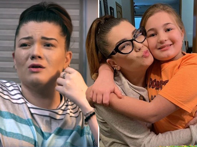 Teen Mom Amber Portwood breaks down in tears over strained relationship with daughter Leah, 12, & begs 'I want her back'