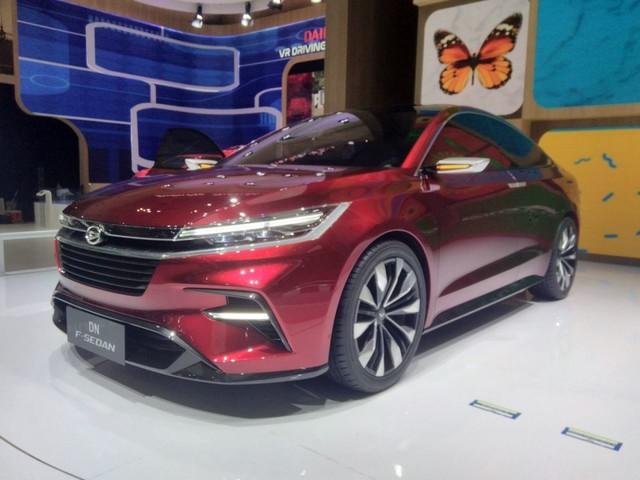 Daihatsu DN F-Sedan Concept – GIIAS 2017 Live