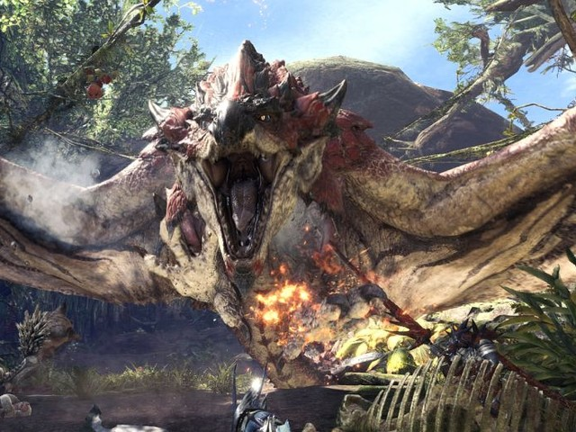 Monster Hunter World: let's take an in-depth look at the Switch Axe, Gunlance, Insect Glaive and Hunting Horn