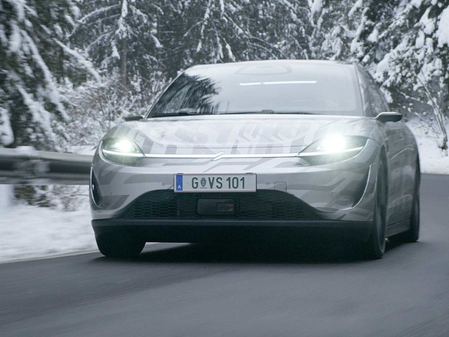 Sony Vision-S EV Road Test Begins; 0-100 KMPH In 4.8 Seconds