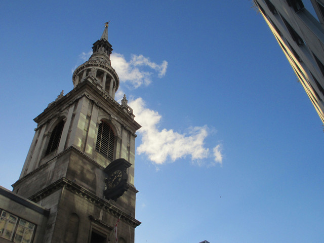 Historic London Breakfasts: Cafe Below At St-Mary-Le-Bow, Cheapside