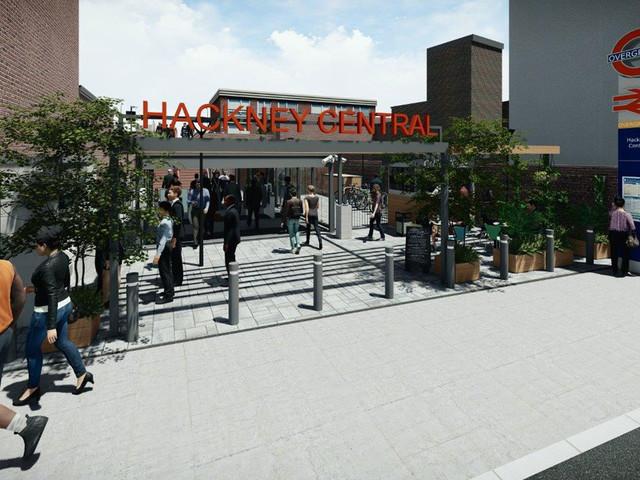 Work on Hackney Central station's upgrade has started
