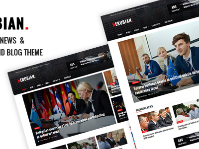 Nerubian - A Modern News & Magazine Theme (News / Editorial)