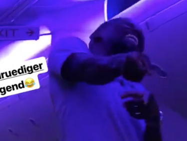 Antonio Rüdiger can't stop singing 'Mans Not Hot'