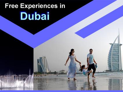 Top Five Free Experiences in Dubai
