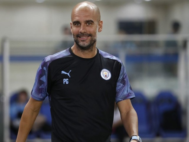 Man City get Asia tour underway with open training in Shanghai