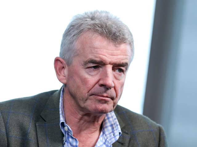 Ryanair boss condemns 'lunacy' and 'hysteria' over coronavirus
