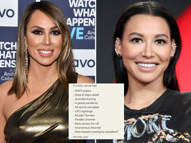 RHOC's Kelly Dodd slammed for ignoring Naya Rivera and Black Lives Matter in her list of what's wrong with 2020