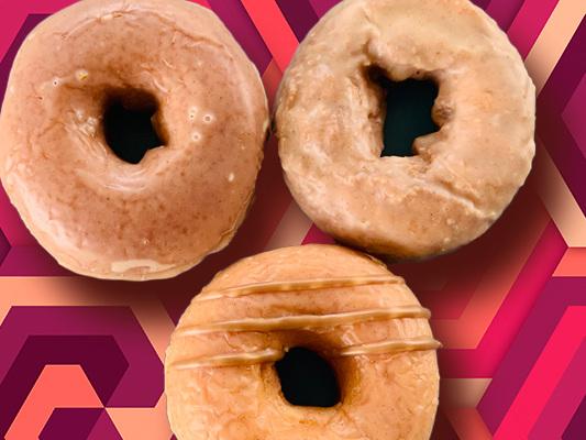 Here's Our Review Of Krispy Kreme's New Fall Apple Cider Glazed Doughnuts