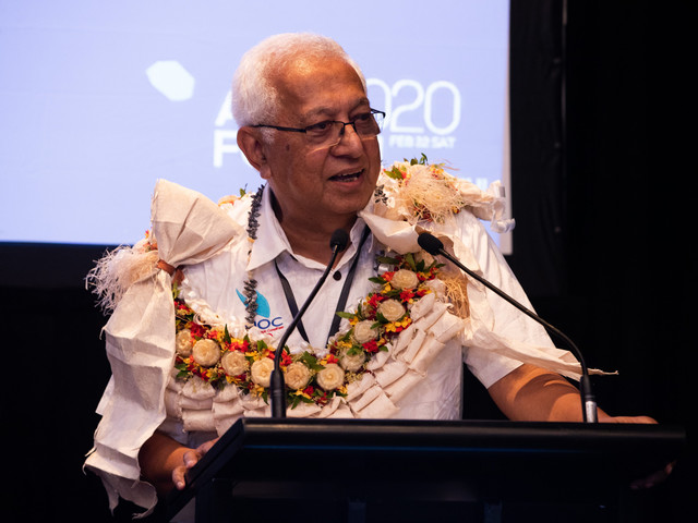 Mitchell urges National Federations to use ONOC development programme at AIBA Continental Forum
