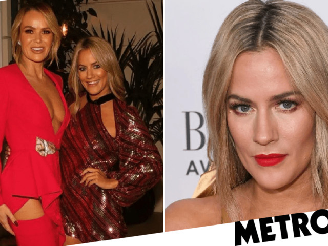 'Angry' Amanda Holden says Caroline Flack was 'thrown to the dogs' following arrest as presenter dies aged 40