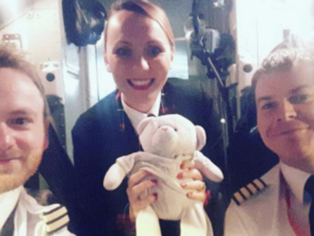 Teddy Given VIP Treatment By Cabin Crew After Four-Year-Old Girl Left It In An Airport