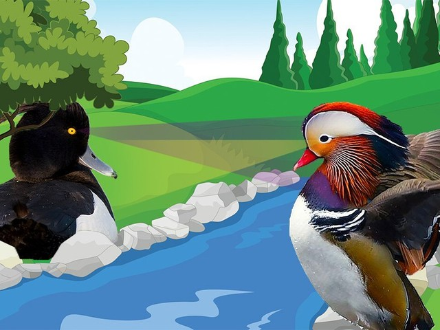 Everyone is divided over who is better – Hot Duck or Goth Duck