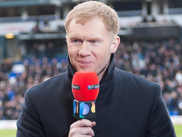 Paul Scholes gives his prediction for FC Barcelona v Man United