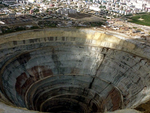 These are the deepest and largest man-made holes in the world