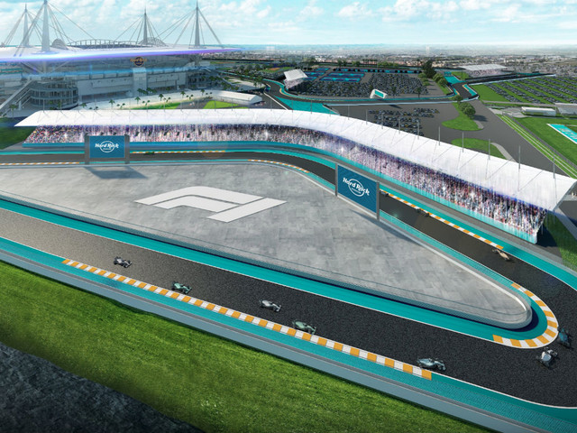 Pictures: F1 reach agreement to host Miami Grand Prix at Hard Rock Stadium