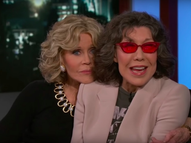 Jane Fonda on Lily Tomlin: 'I'm fascinated with her, she always says something funny'